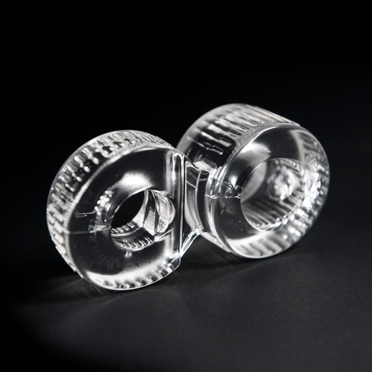 Erekčný krúžok a naťahovač semenníkov Zizi Trainer priehľadný