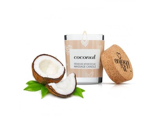 Masážna sviečka Magnetifico Enjoy it! Coconut 70 ml