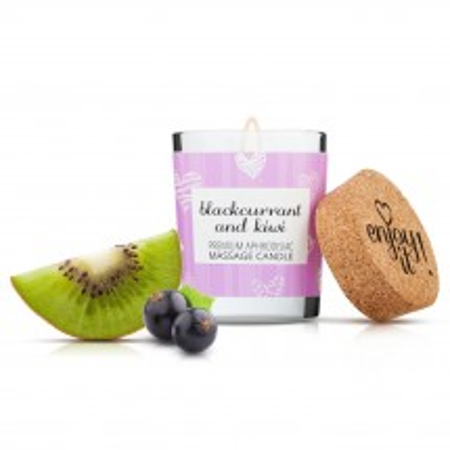 Masážna sviečka Magnetifico Enjoy it! Blackcurrant and Kiwi 70 ml