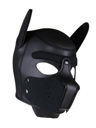 Psia maska Neoprene Puppy Hood čierna
