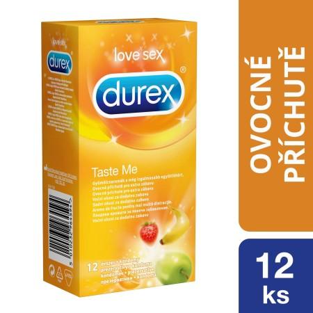 Kondómy Durex Taste Me 12 ks