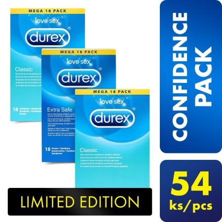 Sada Durex Confidence Pack