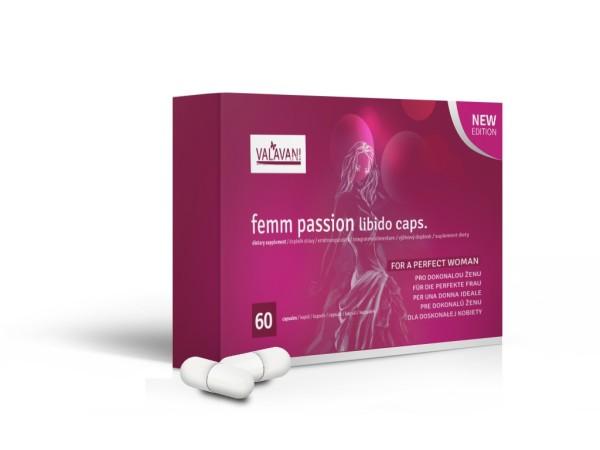 Femm Passion Libido Caps. 60 kapsúl