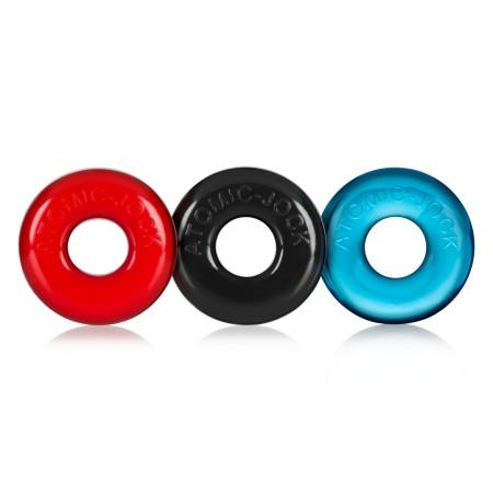 Erekčné krúžky Oxballs Ringer farebné