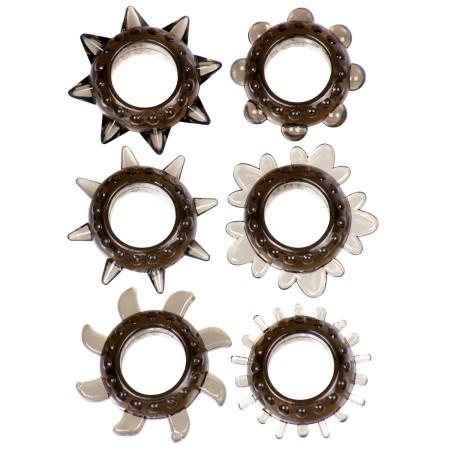 Erekčné krúžky Linx Tickler