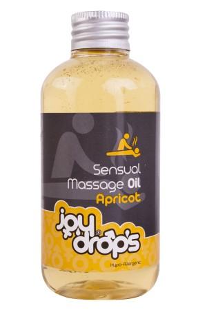 Masážny olej JoyDrops marhuľa 250 ml