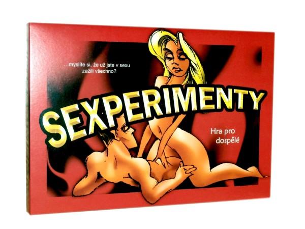 Erotická hra Sexperimenty