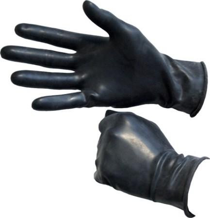 Gumové rukavice Mister B čierne