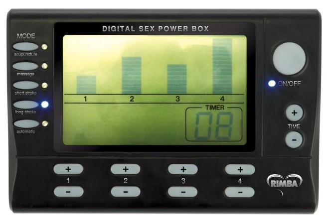 Napájací zdroj Rimba Electro Sex Power Box Deluxe